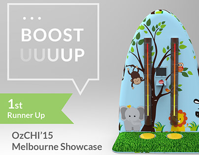 Interactive Game Installation | Boost Up | HCI | UX