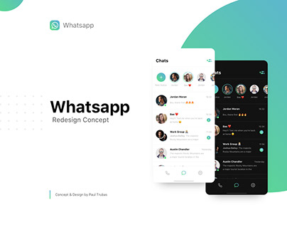 Whatsapp | Redesign Concept