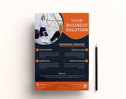 Creative & Corporate flyer