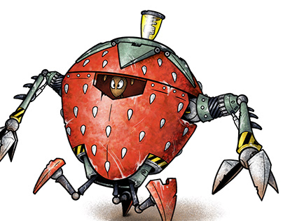 "MECH-ANTS: ""Strawberry"""