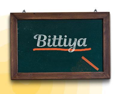 Bittiya - Girls School Branding and strategy