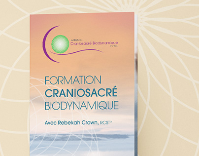 DESIGN GRAPHIQUE Institut de Craniosacré Biodynamique