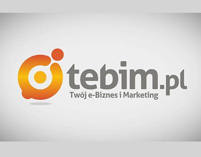Tebim.pl - logo animation