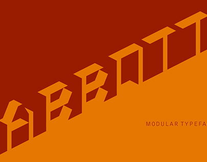 Abbot Typeface