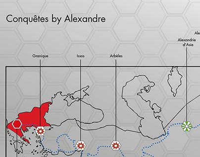 Conquêtes by Alexandre le Grand