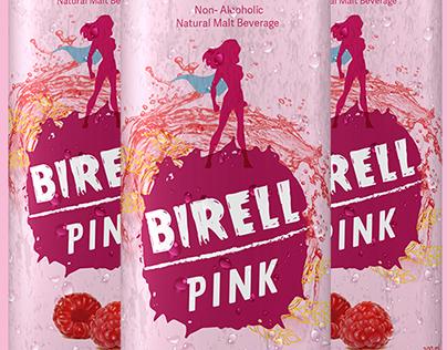 Birell Pink VISUAL IDENTITY & PACKAGING