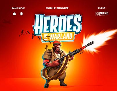 Heroes of Warland - UI/UX Design