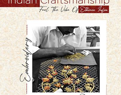 Indian craftsmanship Campaign