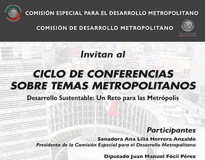 Ciclo de Conferencias sobre Temas Metropolitanos