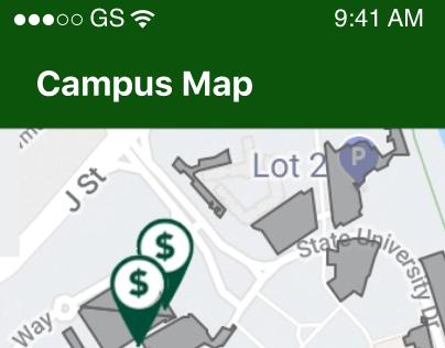 CSUS Campus Map