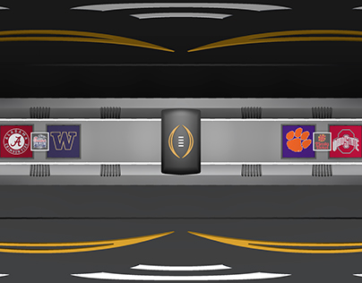 360 Animation - College Football Playoff