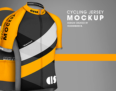 Cycling jersey - Mock Up
