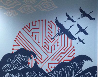 Mural - Emerio Indonesia (Artwork by Sir Dandy)