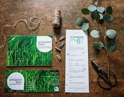 Emission Zero - Corporate + Event Graphic Design
