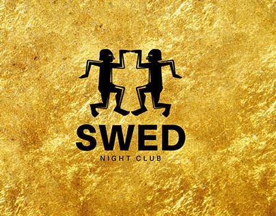 S W E D - Night Club Logo Design