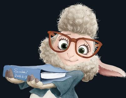 ZOOTOPIA Vice mayor of sheep on Behance
