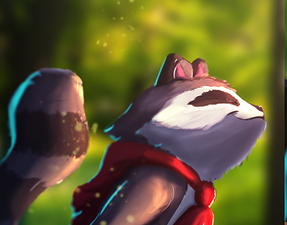 Raco character design: para animação
