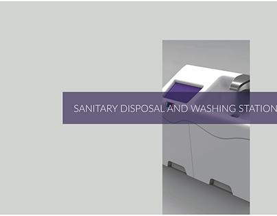 Sanitary Disposal and Washing Station