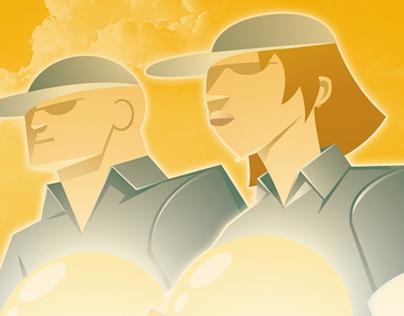 Commercial Illustration - Think Farm