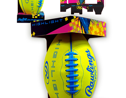Rawlings Football Packaging