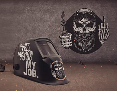Welder Helmet Design
