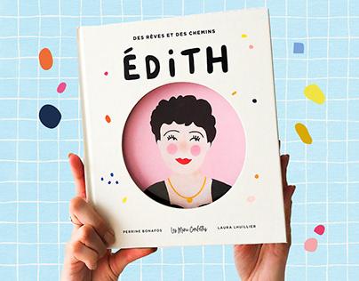 Édith║ Book Illustrations