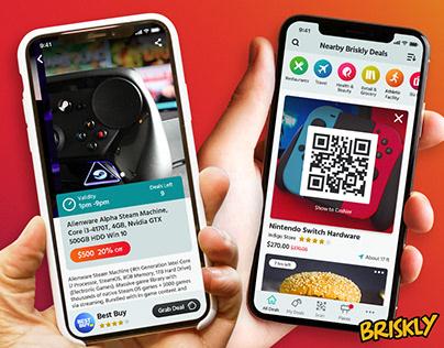 Briskly - App (eCommerce/B2C)