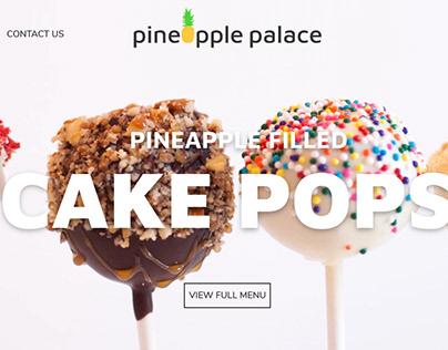 Pineapple Palace - Website Ui Variation 2