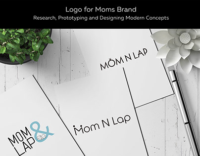 Logo for Moms Brand