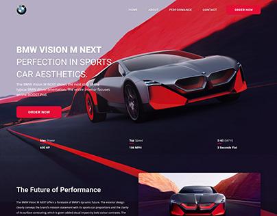 Web & App Design BMW Vision Next