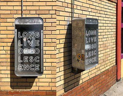Phone Box: Public Art Project