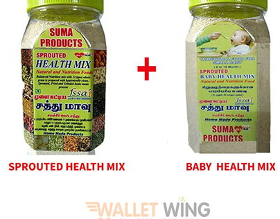 Best Sprouted Health Mix for Babies