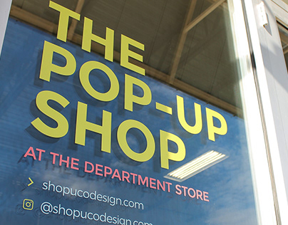 The Opening of the Pop-Up Shop