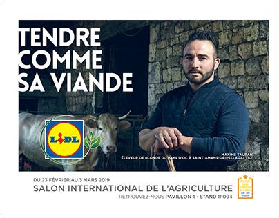Campagne pour LIDL