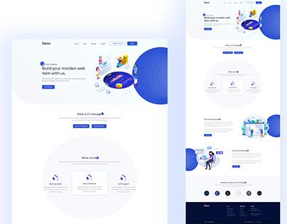 Creative Agency UI Template