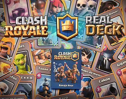 Clash Royale · Real Deck (Printed Cards)