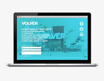 Canal Volver - UI sitio web responsive