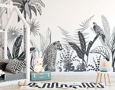 Wall decoration design for Falra magyar! brand