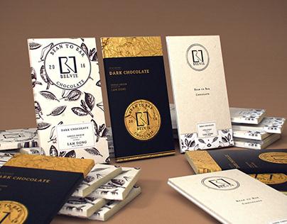 Belvie Chocolate Packaging & Design