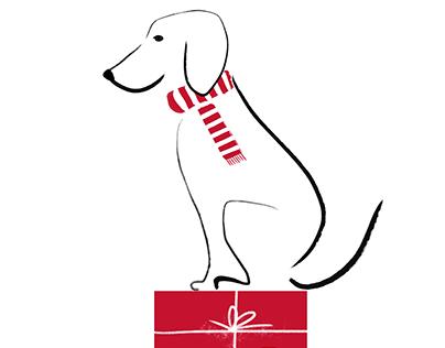 Illustration–Year of Dog