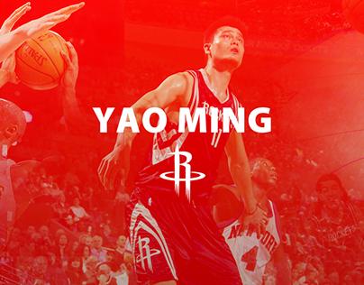 YaoMing PTS and Huston Rockets W/L Scores(web data vis)