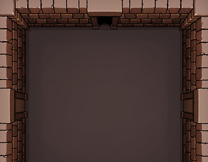 Top-Down Dungeon Room