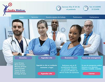 Manejo de imagen corporativa Cardio médicos
