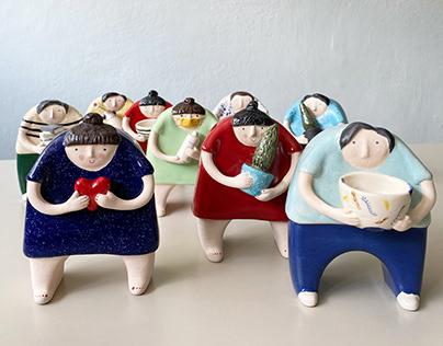 Ceramic Figures 2020
