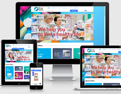 Drugstore - Joomla Pharmacy template