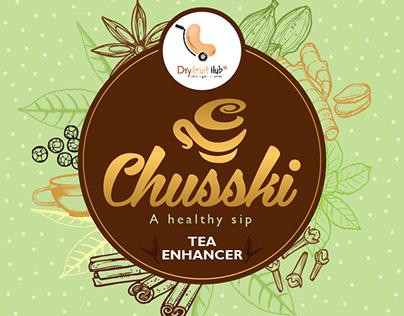 Tea Pack Label Concept