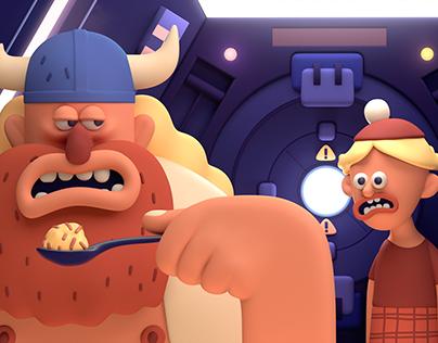Vikings in Space