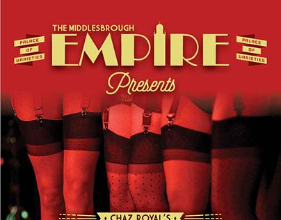 Middlesbrough Empire Burlesque Ball Posters