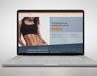 Website Studio Fitness