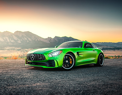 Mercedes-Benz AMG GTR at the Flatirons